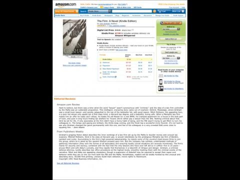 Erst mit dem iPad im Kindle-Store auf Amazon.com Bücher kaufen...