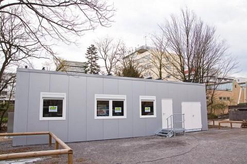 Spartanisch: das Smart Home auf dem Gelände des KIT (Foto: Gabi Zachmann )