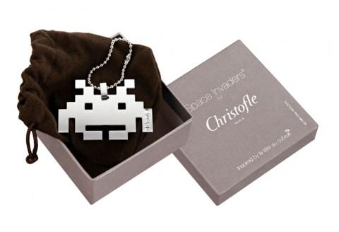 Christofles Space Invader zum Umhängen