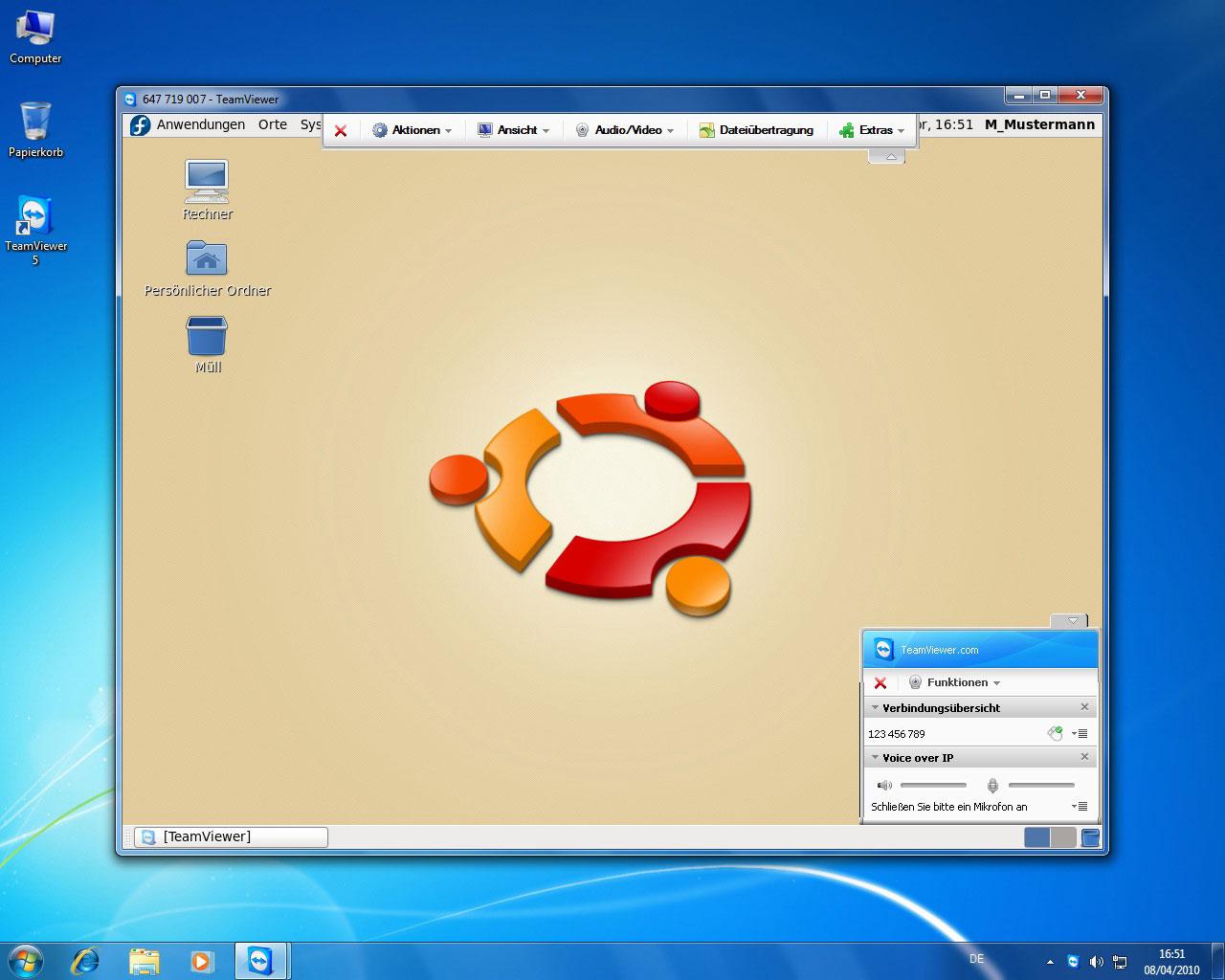 Teamviewer auch für Linux - als Betaversion - Teamviewer unter Linux