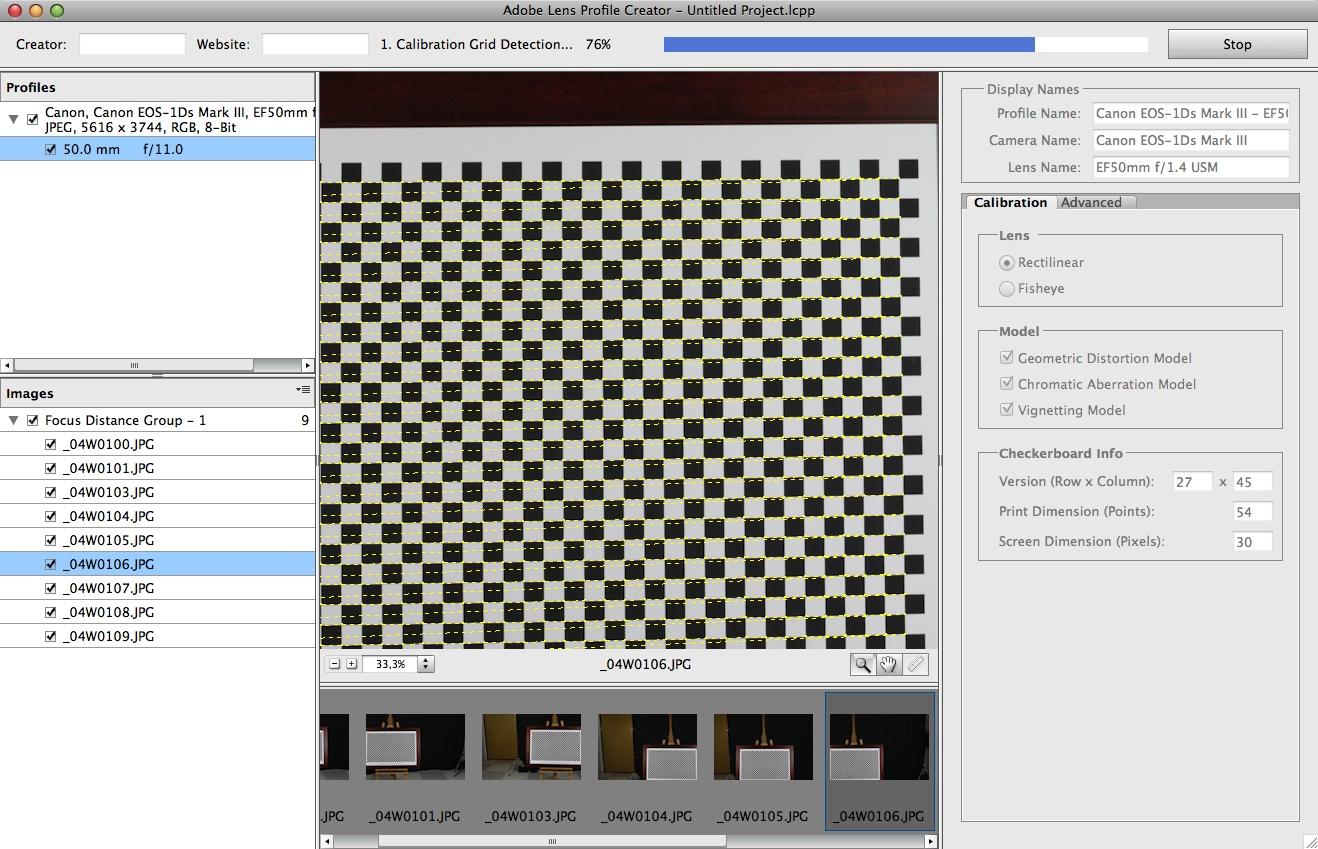 Adobe stellt Objektivkorrektur-Tool vor - Adobe Lens Profile Creator