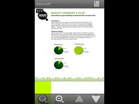 Adober Reader für Android 2.1