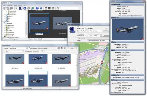 CDWinder 5.7 mit Geofinder und OpenStreetMaps