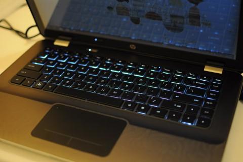 Tastaturbeleuchtung des Envy 14 ...
