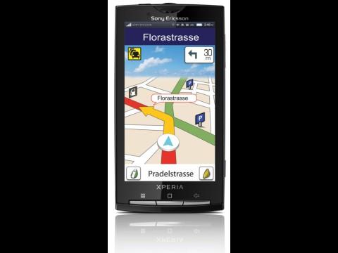 Telmap Navigator auf Sony Ericssons Xperia X10