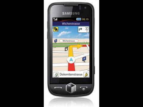 Telmap Navigator auf dem Samsung S8000