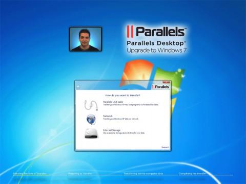 Desktop Upgrade to Windows 7 - Auswahl der Übertragungswege zu einem neuen Computer
