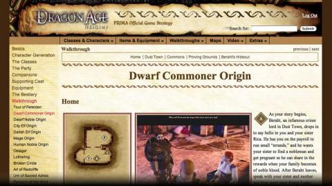 Komplettlösung Dragon Age Origins
