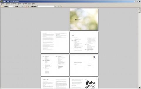 Sumatra PDF - Buchansicht