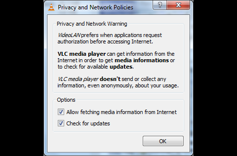 vLC 1.1.0-rc unter Windows 7