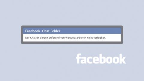Live-Chats waren zeitweilig nicht zugänglich - Facebook musste die Sicherheitslücke beseitigen.