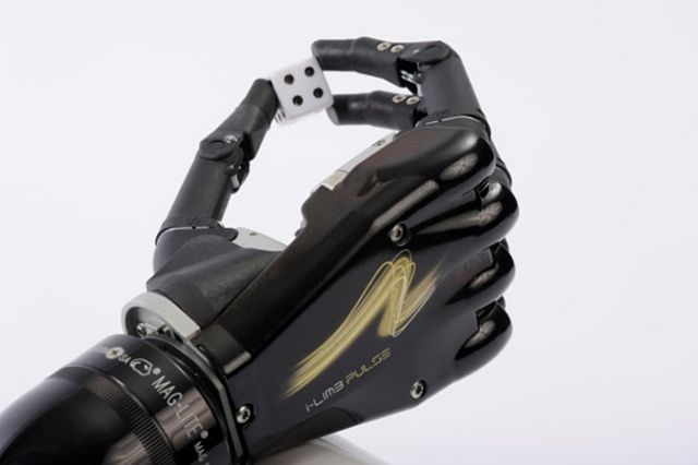 Bionische Handprothese I Limb Pulse K 252 Nstliche Hand Wird