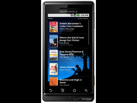 Die App Kindle for Android... (Foto: Amazon)
