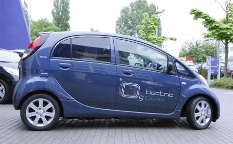 Der iOn von Peugeot... (Foto: wp)