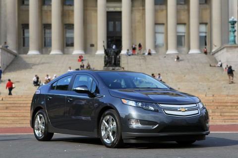Das Hybridauto Chevrolet Volt... (Foto: GM)