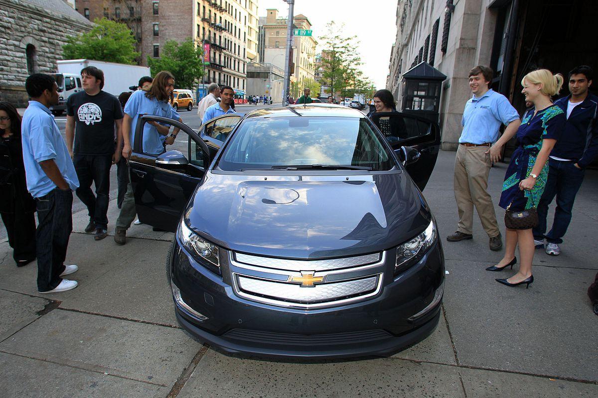 Elektroauto: GM gibt acht Jahre Garantie auf den Akku des Volt - ... kommt 2010 in den USA auf den Markt. (Foto: GM)