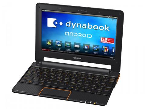 Dynabook AZ mit Tegra 250 und Android von Toshiba