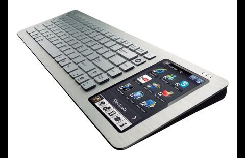5-Zoll-Touchscreen mit eigener Oberfläche