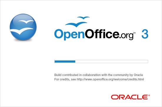 Openoffice.org 3.2.1: Erste Version der Office-Suite unter der Regie von Oracle - Splashscreen von Openoffice.org 3.2.1