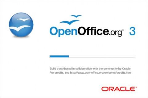 Splashscreen von Openoffice.org 3.2.1