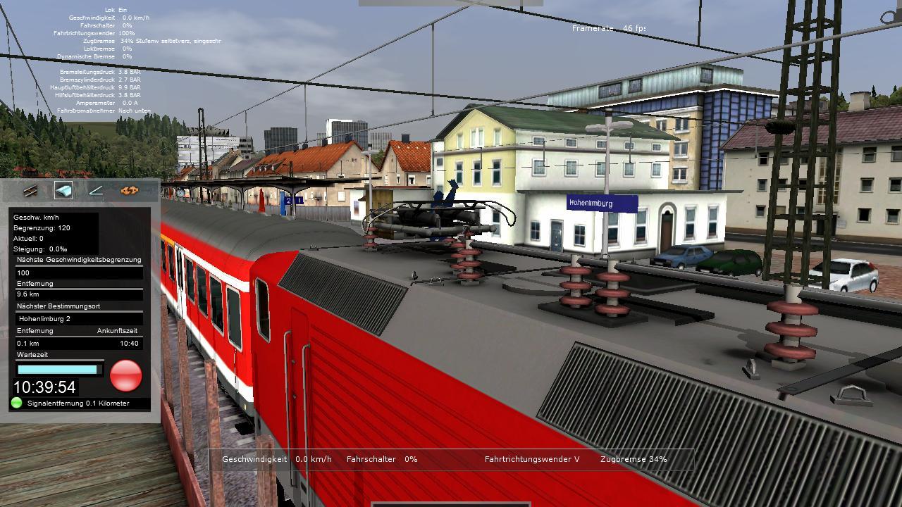 Spieletest Train Simulator 2010: Schöne Landschaften im Zugsimulator - ... und ablegen.