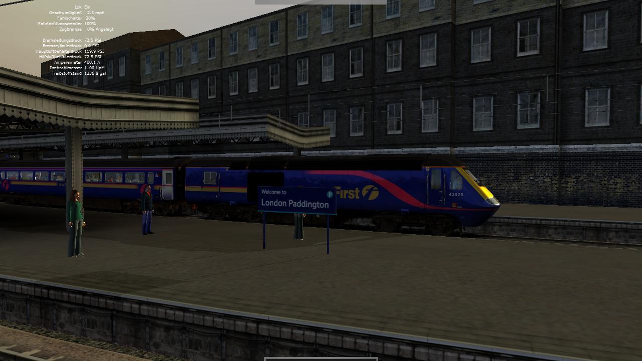 Spieletest Train Simulator 2010: Schöne Landschaften im Zugsimulator - ... in Richtung Oxford.