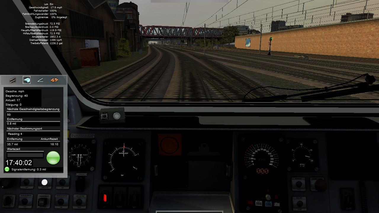 Spieletest Train Simulator 2010: Schöne Landschaften im Zugsimulator - In der Perspektive des Zugfahrers ...