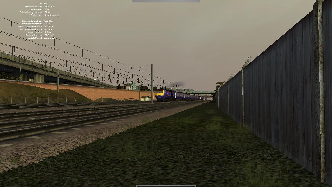 Spieletest Train Simulator 2010: Schöne Landschaften im Zugsimulator - Vorbeifahrt