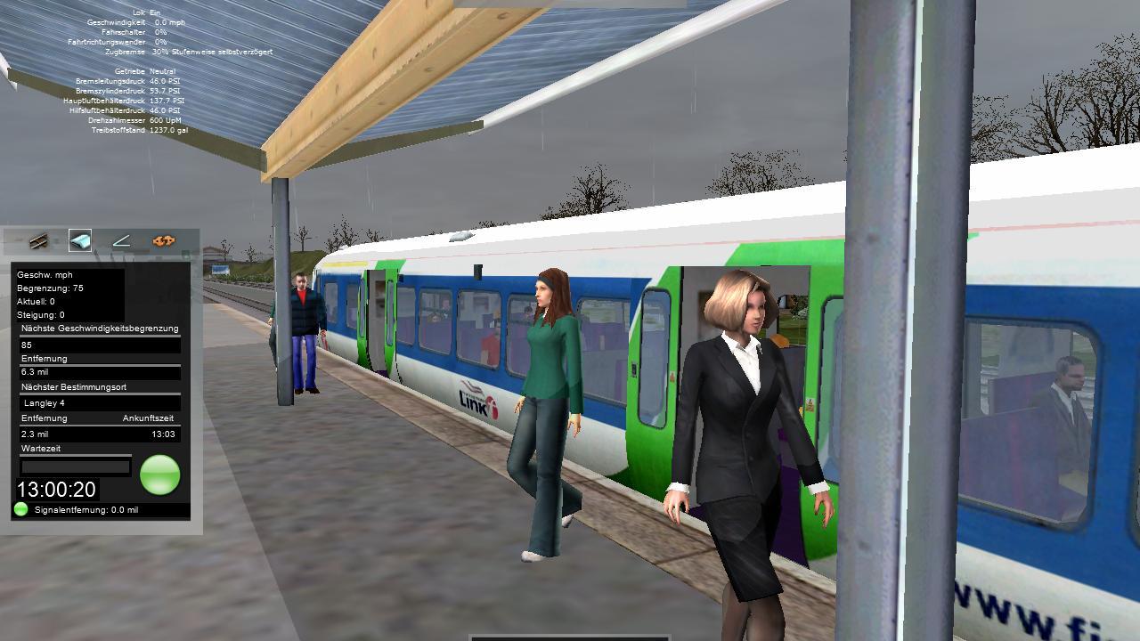 Spieletest Train Simulator 2010: Schöne Landschaften im Zugsimulator -