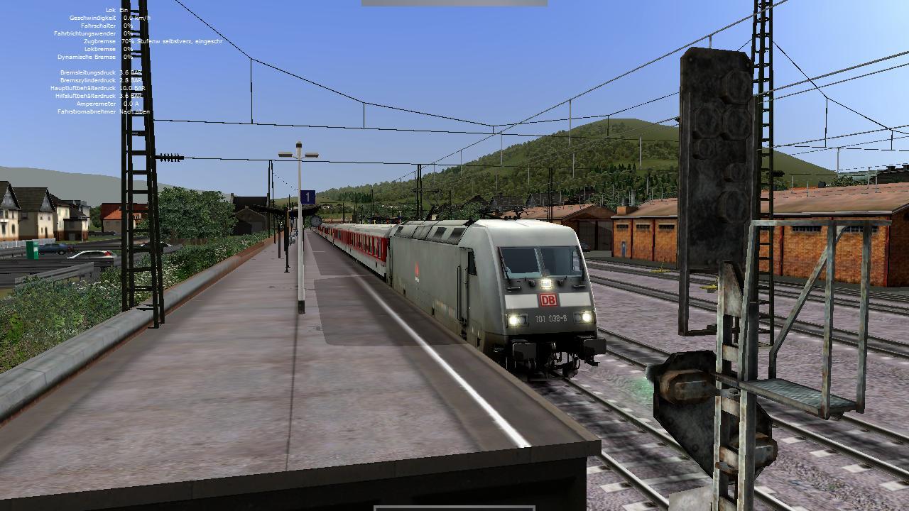 Spieletest Train Simulator 2010: Schöne Landschaften im Zugsimulator - Die Baureihe 101 ...