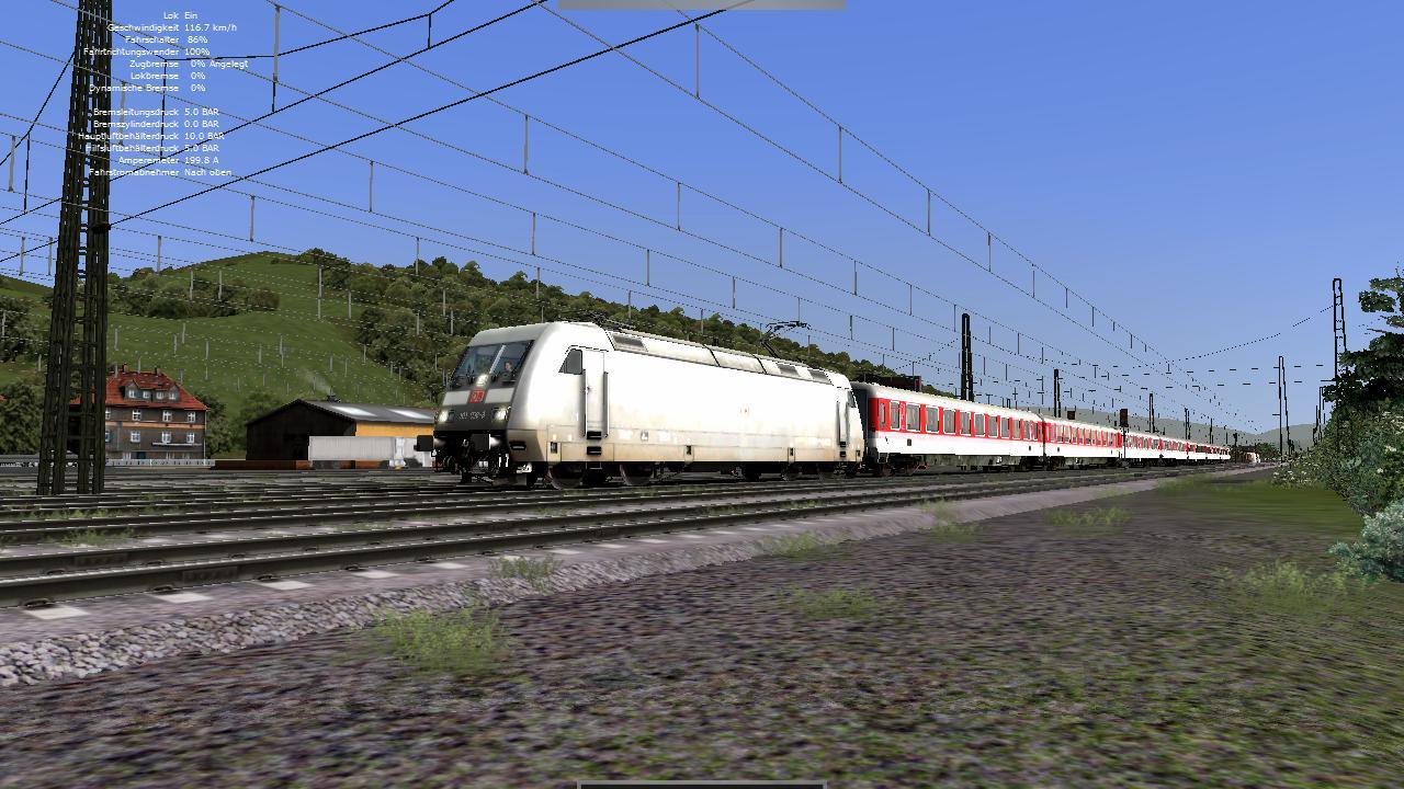 Spieletest Train Simulator 2010: Schöne Landschaften im Zugsimulator - Baureihe 101
