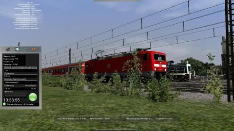 Baureihe 143: Beschleunigt schnell, schafft aber keine hohen Geschwindigkeiten