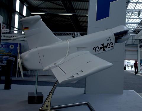 Kleinflugzeug Zielortung (KZO) heißt die Aufklärungsdrohne der Bundeswehr. (Foto: wp)