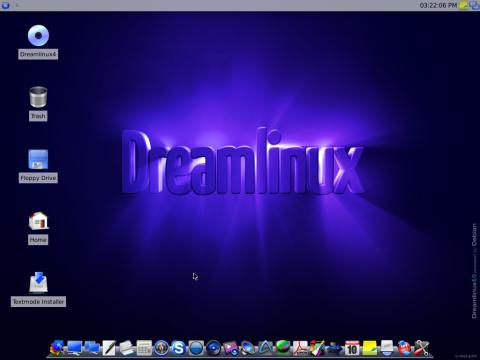 Dreamlinux - der XFCE-Desktop