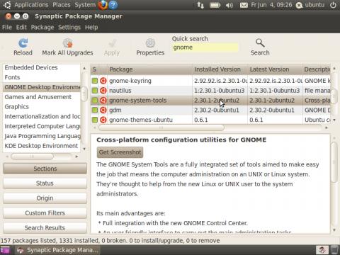 Die Alphaversion von Ubuntu 10.10 hat sich optisch nicht verändert, bringt aber bereits neue Pakete.