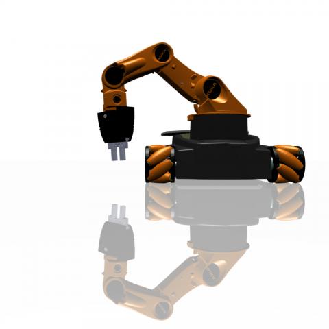 Youbot ist ein mobiler Roboter... (Bild: Kuka)