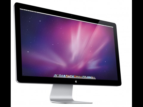Apple Cinema-Display mit 27 Zoll