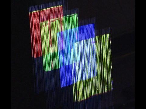 AquaLux 3D: Projektion auf vier Schichten