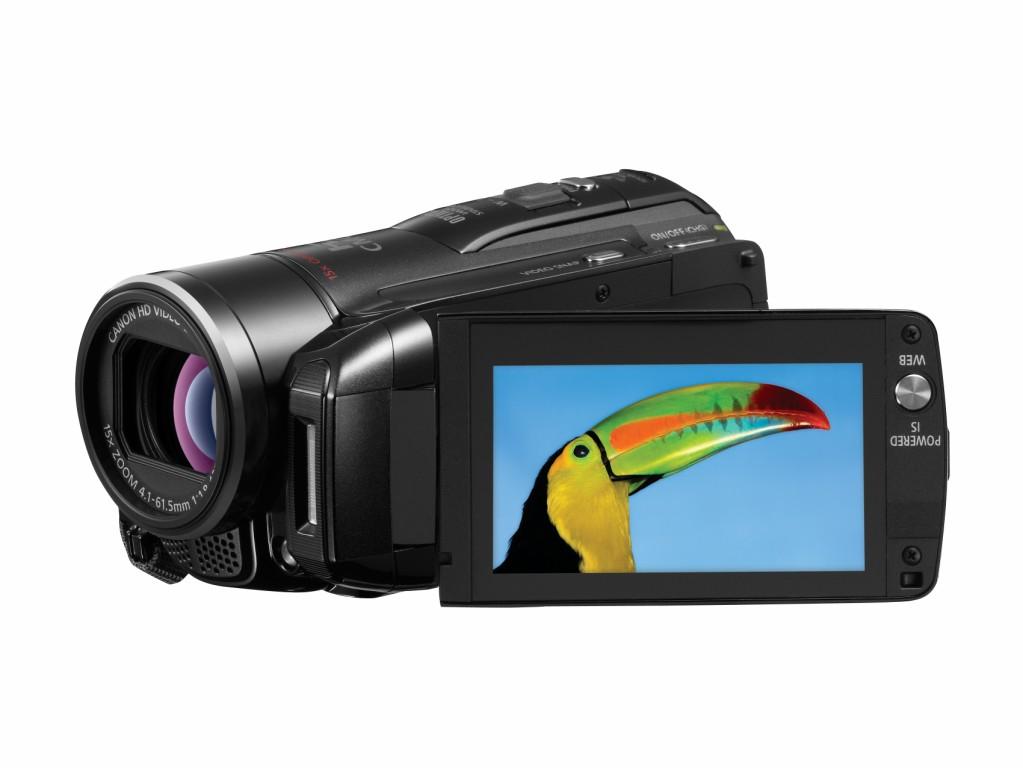 Canon: Camcorder mit 64 GByte Internspeicher und SDXC-Option - Canon Legria HF M32