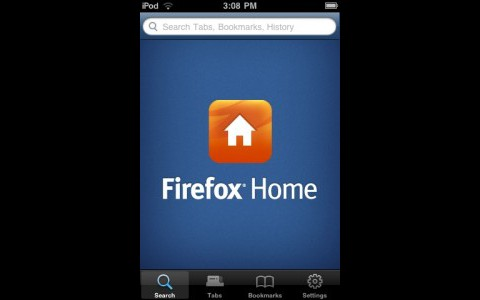 Firefox Home fürs iPhone