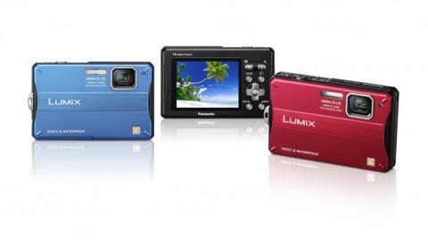 Panasonic Lumix DMC-FT10 - Verfügbare Farben