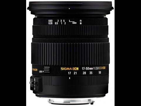 Sigma 2,8/17-50 mm EX DC OS HSM