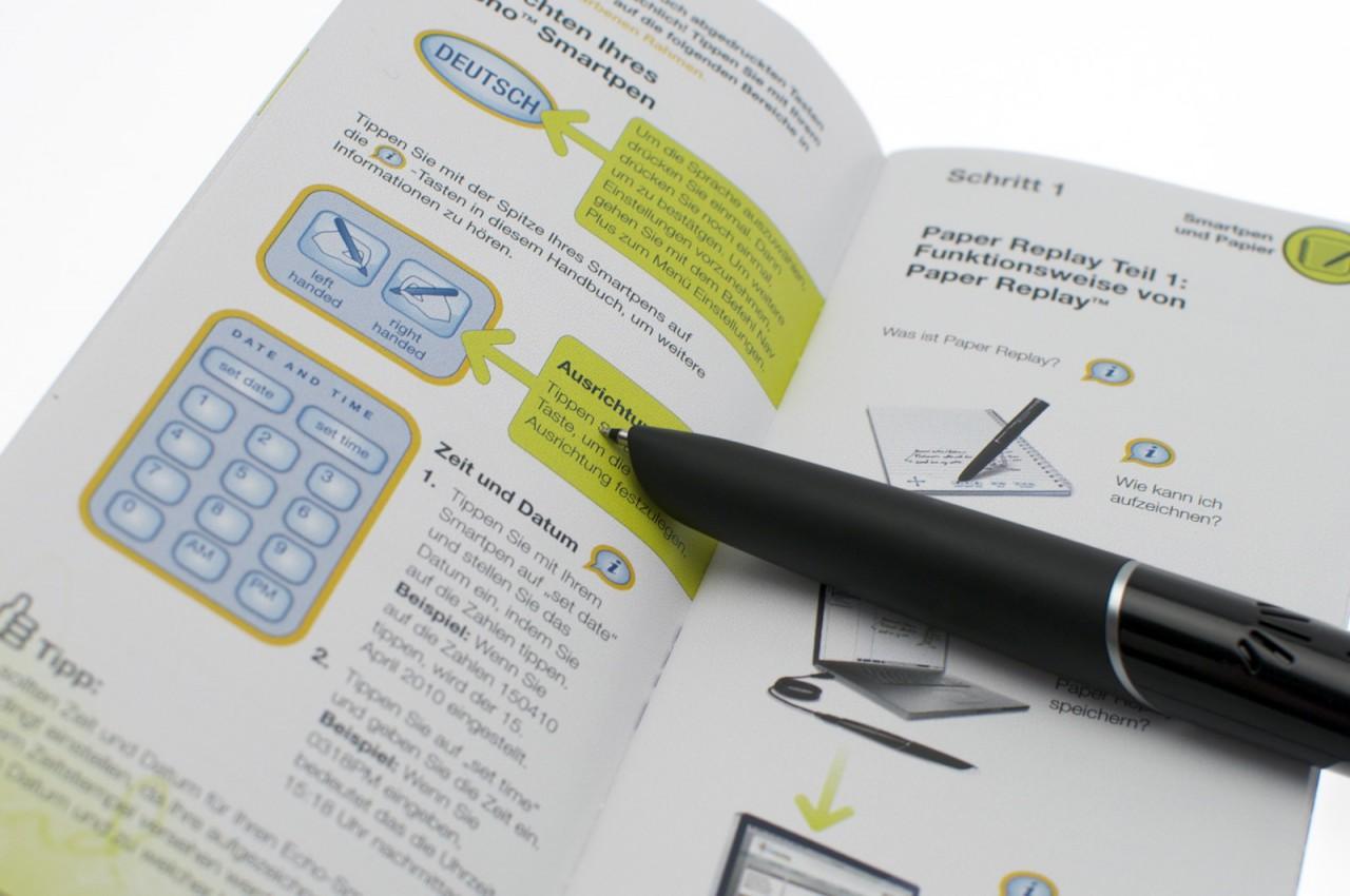 Echo Smartpen im Test: Der Kugelschreiber mit Kamera und Mikrofon -