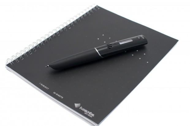 Der Stift braucht Spezialpapier, ...