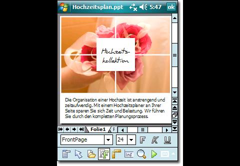Softmaker Office 2010 für Windows Mobile - Presentations