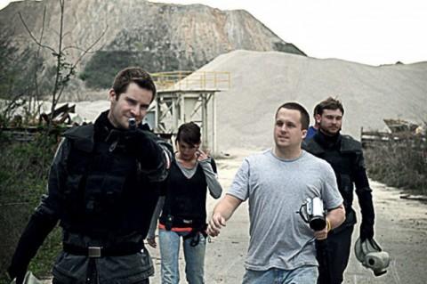 Beyond Black Mesa - ein Teil des Filmteams