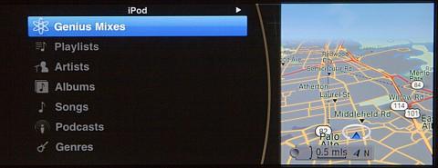 iPod Out im BMW-Bordcomputer
