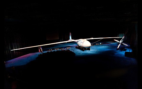 Boeings neue Drohne Phantom Eye... (Foto: Boeing)