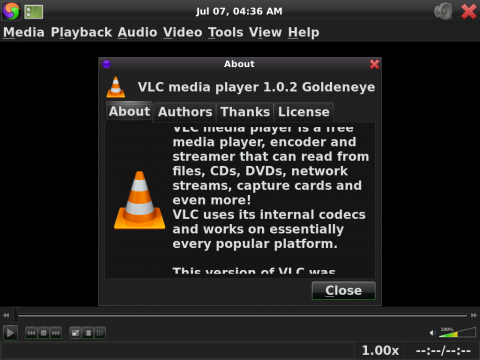 Der Video-Player VLC