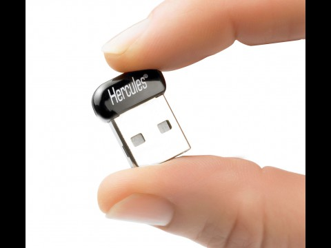 Hercules Wireless N USB Pico (HWNUp-150)